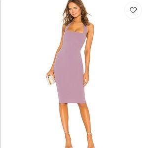 Nookie X Revolve Boulevard Midi Dress Soft Violet